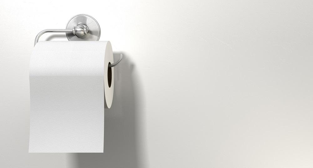 Uchwyty i pojemniki na papier toaletowy.